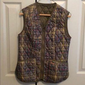 Women's Barbour Plaid Vest